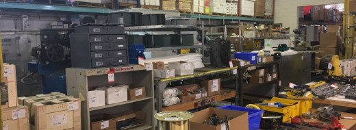 Timed Online Auction of Large Industrial Booth Manufacturer – Servair Inc. – Assets Include: Office Furniture, Tools, Hardware, Steel Wire, Steel Panels, Motors, Valves, Fans & Vehicles. – September 13th, 2017 10:30am