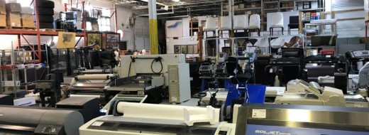 *** Large Timed Online Auction*** March 20th 2019 – 10:30am EST – Assets Include: Packaging, Printing & Lab Equipment, Furniture, Art, Electronics, Computers, Office Supplies, Vehicles & Much More!!