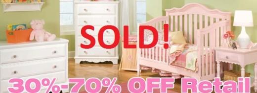 LIQUIDATION SALE – Baby Furniture & Baby Accessories 4/4/16