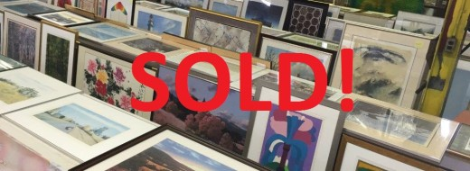 ONLINE AUCTION – Large Assortment of Art Work & Reprints